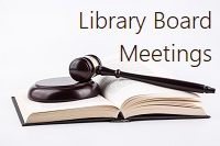 Library Board Meeting Link